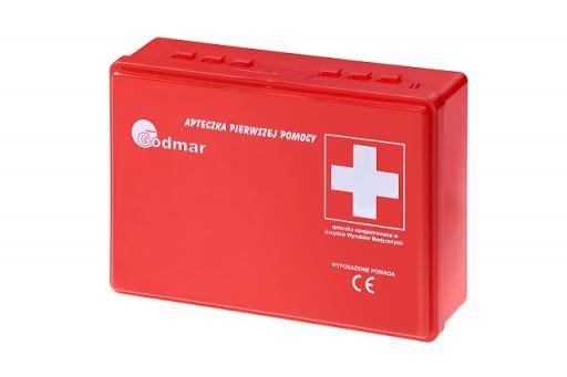 Apteczka samochodowa pierwszej pomocy GODMAR ITP-1