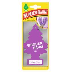 Zapach samochodowy WUNDER BAUM Lawenda 1szt.