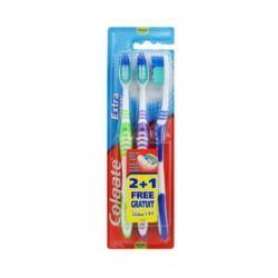 Colgate extra clean szczoteczka do zębów 3szt.