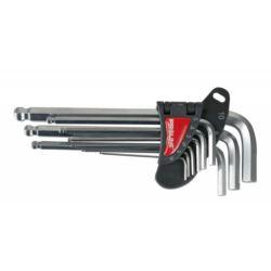Klucze imbusowe z kulą 9 szt. 1.5 - 10 mm PROLINE